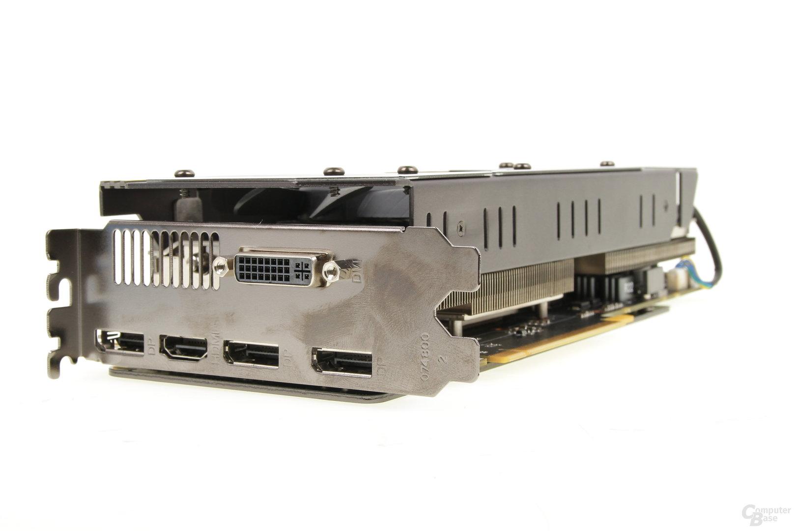 Zotac GeForce GTX 970 Omega – Anschlüsse
