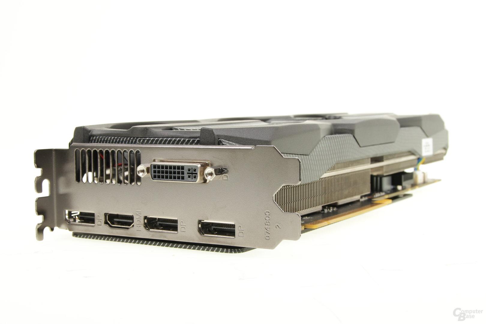 Zotac GeForce GTX 970 Extreme – Anschlüsse