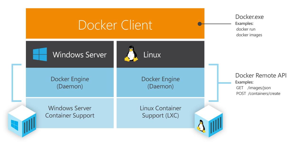 Docker mit Windows und Linux