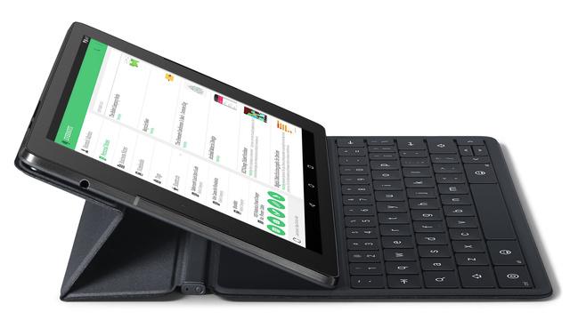 Nexus 9 mit Tastatur-Hülle