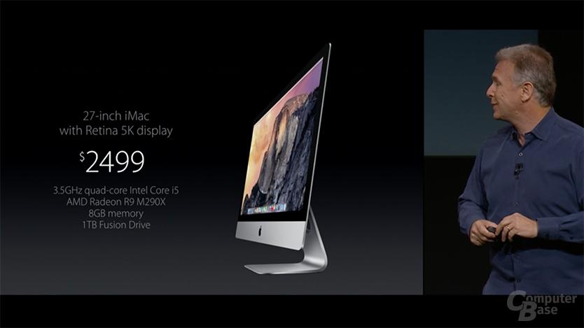 Apple iMac mit 5K-Display