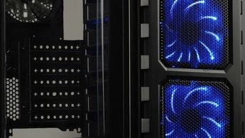 Gehäuse: Lepa LPC501 mit LED-Lüfter als Teil des Designs