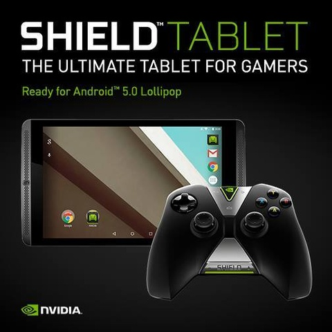Android 5.0 Lollipop für das Nvidia Shield Tablet