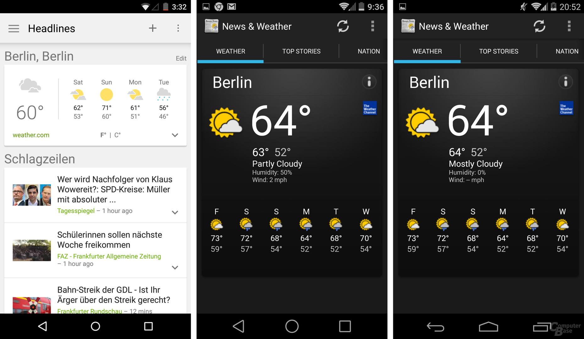 News & Weather
