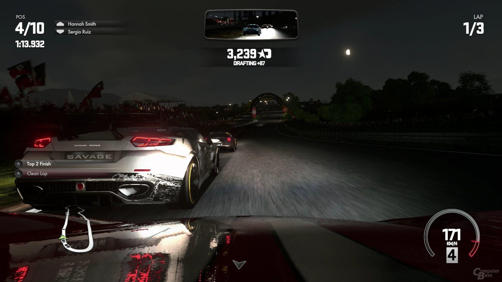 Auch im Dunkeln bleibt Driveclub hübsch