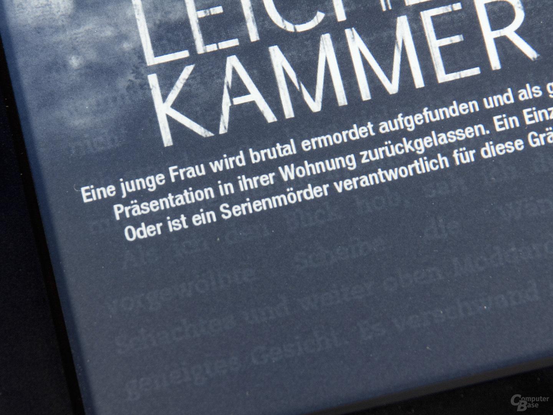 Amazon Kindle Ghosting