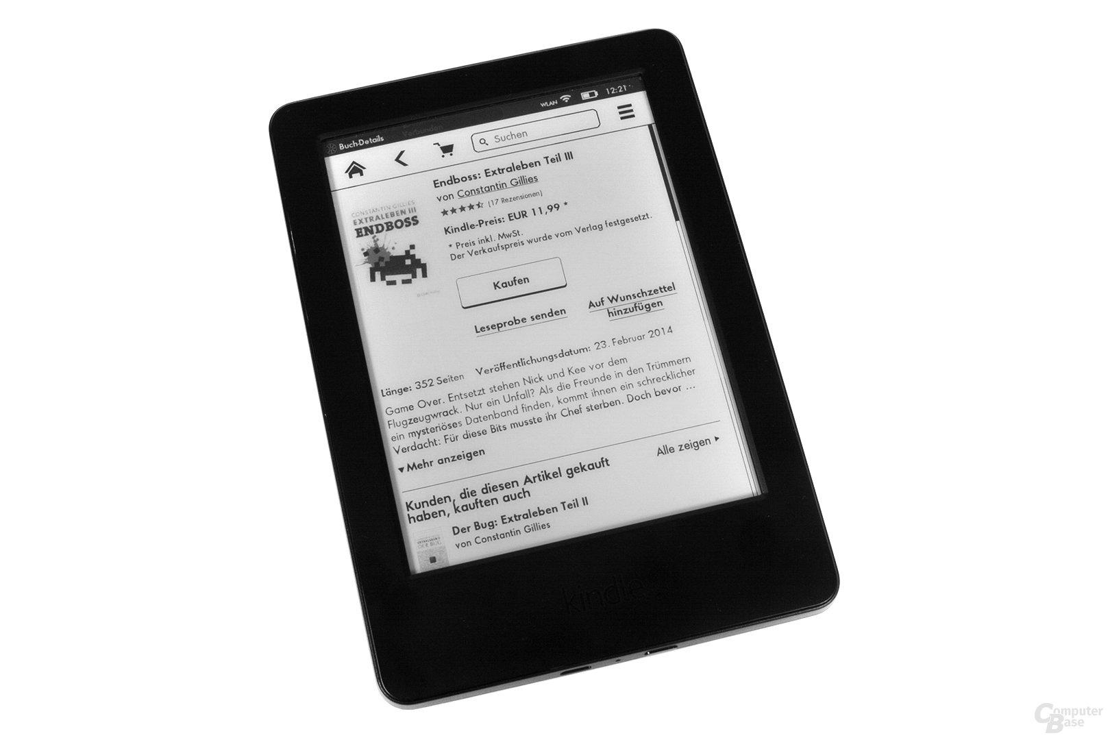 Amazon Kindle – Kaufvorgang