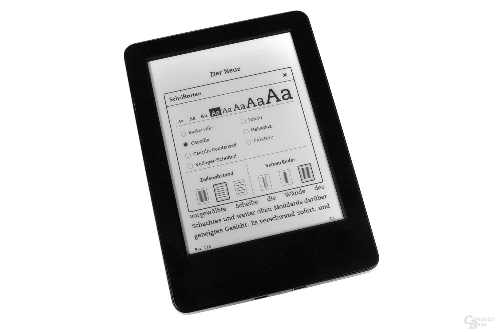 Amazon Kindle – Einstellungen