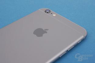 Verarbeitung und Material des Apple iPhone 6 Plus sind sehr gut