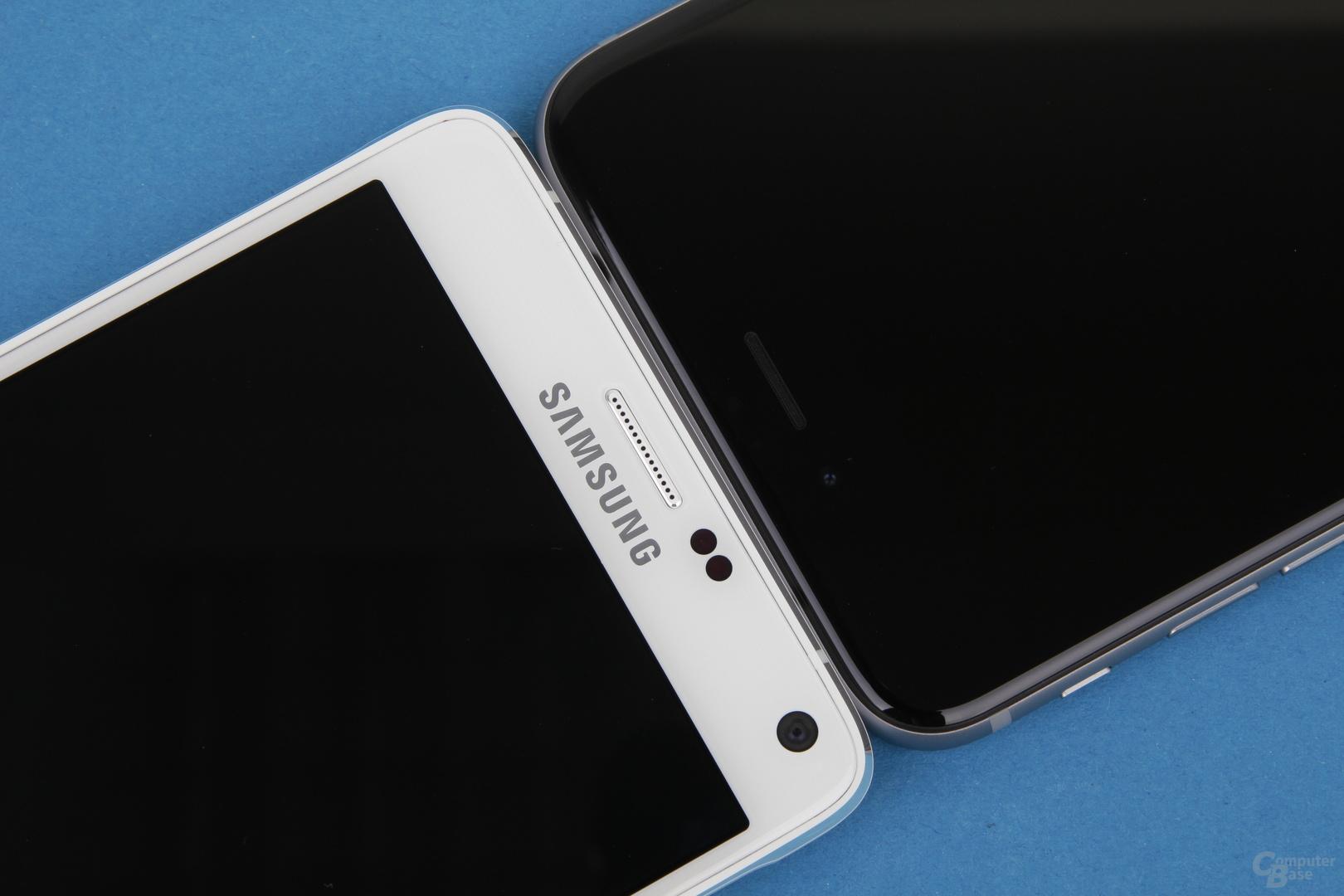 Kopf-an-Kopf-Rennen zwischen Apple iPhone 6 Plus und Samsung Galaxy Note 4