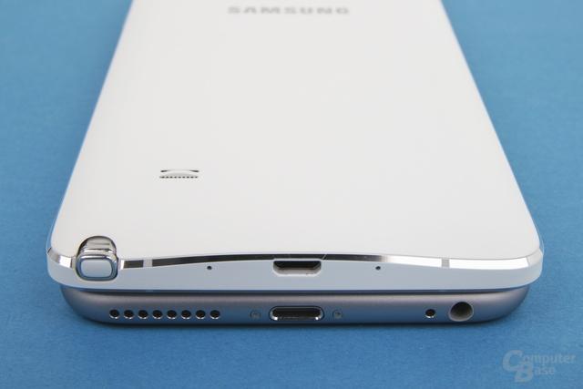 Der Lighning-Anschluss des iPhone 6 Plus ist Micro-USB 2.0 klar vorzuziehen