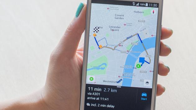 HERE: Beschränkung auf Galaxy-Smartphones aufgehoben