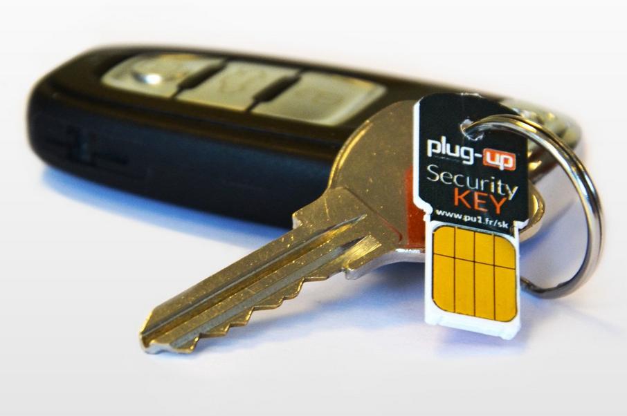U2F-Key von Plug-up