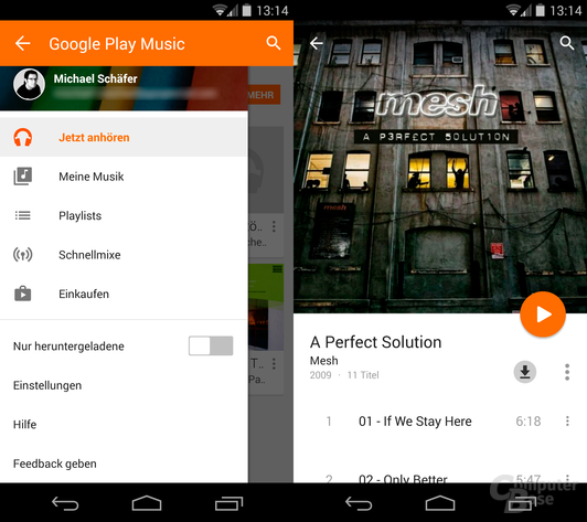 Google Play Music 5.7
