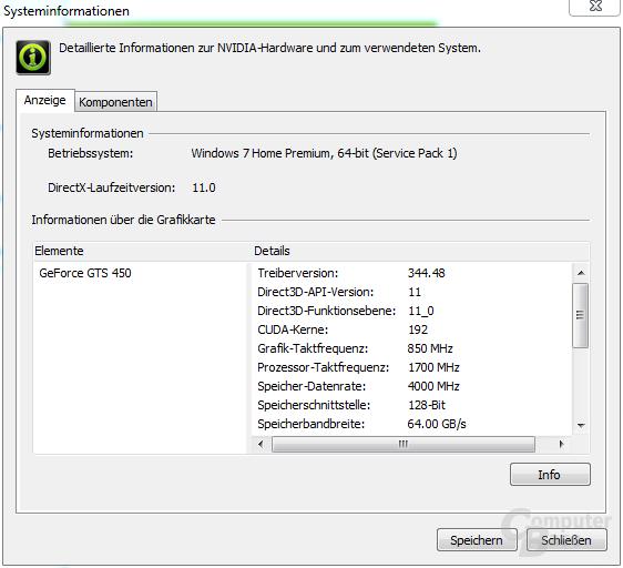 GeForce 344.48: Nvidia-Panel