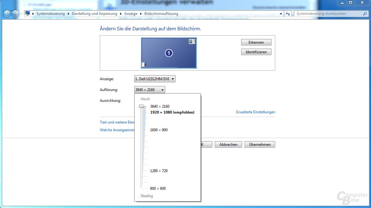 GeForce 344.48: DSR auf einer GeForce GTS 450