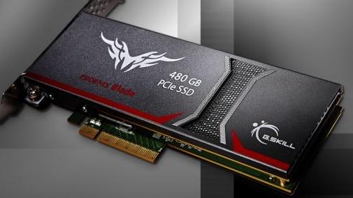 G.Skill Phoenix Blade: PCIe-SSD mit bis zu 2 GB/s dank SandForce-RAID