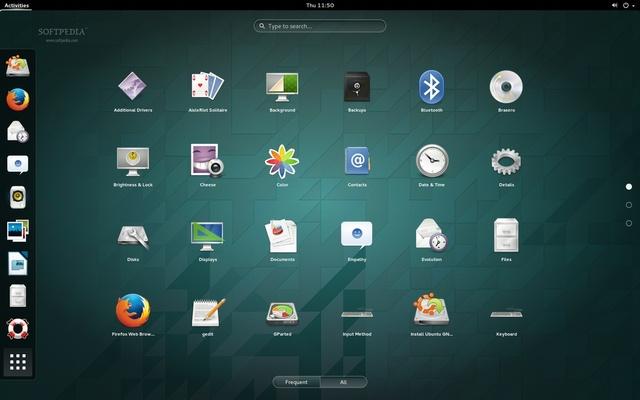 Ubuntu GNOME-14-10 Desktop