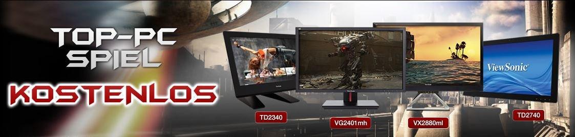 Display-Aktion von ViewSonic