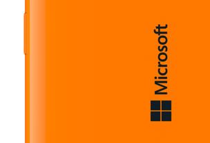 Microsoft-Logo auf Lumia-Smartphone