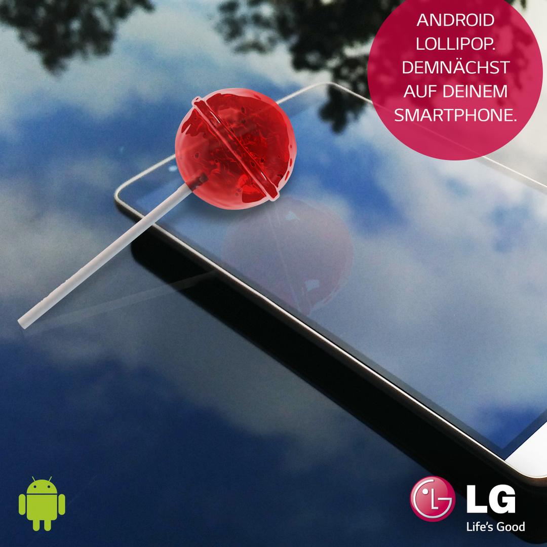 Android 5.0 Lollipop für LG G3