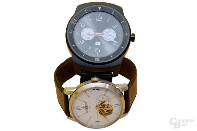 LG G Watch R und Zeppelin 7360-1 Flatline
