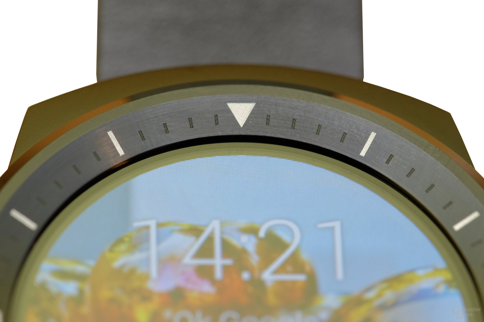 LG G Watch R – Display-Rand