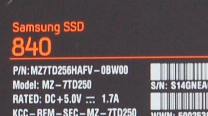 """Samsung SSD 840: Problem mit """"Altersschwäche"""" wird untersucht"""