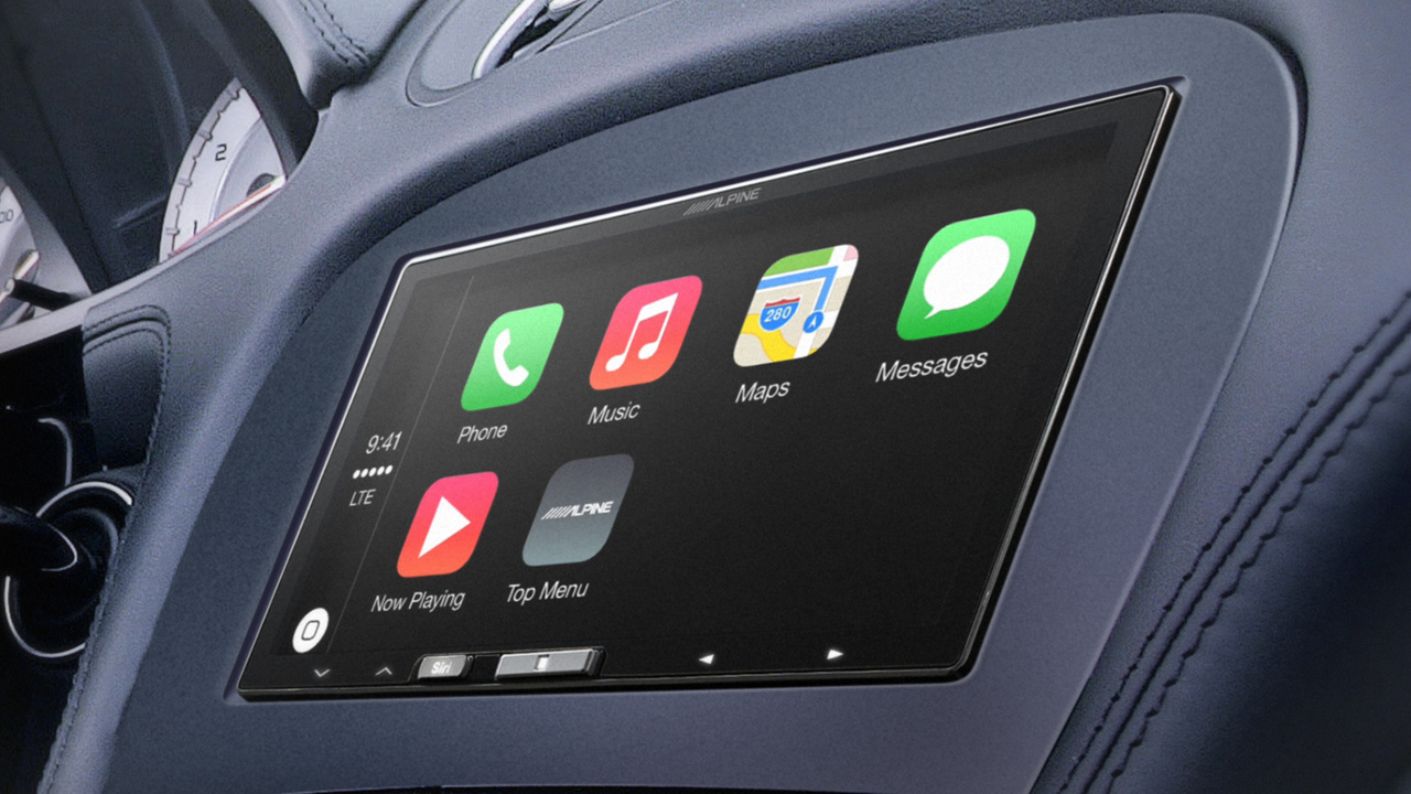 apple carplay alpine bietet nachr stl sung an computerbase. Black Bedroom Furniture Sets. Home Design Ideas