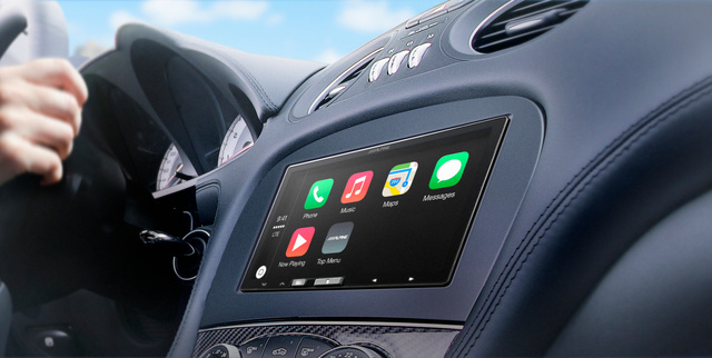 Alpine iLX-007 mit Apple CarPlay