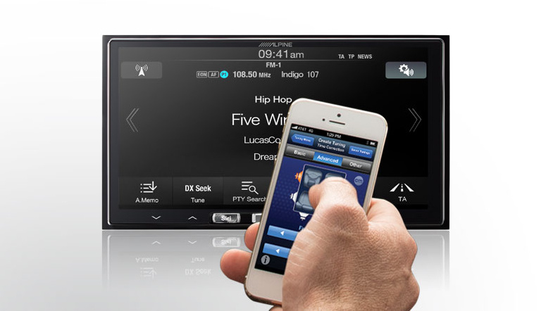 Alpine iLX-007 mit Apple CarPlay
