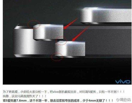 3,8-Millimeter-Smartphone von Vivo