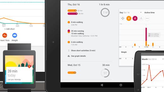 Google Fit: Fitness-App für alle Plattformen freigegeben
