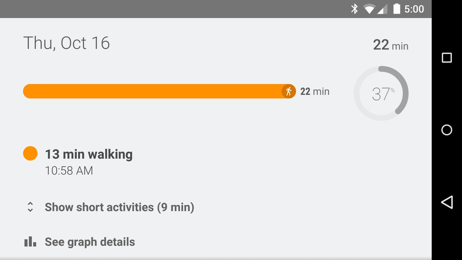 Google Fit für Android