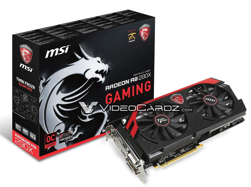 MSI Radeon R9 290X Gaming mit 8GB