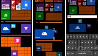Live Folders unter Windows Phone 8.1 Update 1