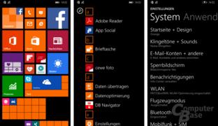 Windows Phone 8.1 Update 1 auf dem Lumia 830