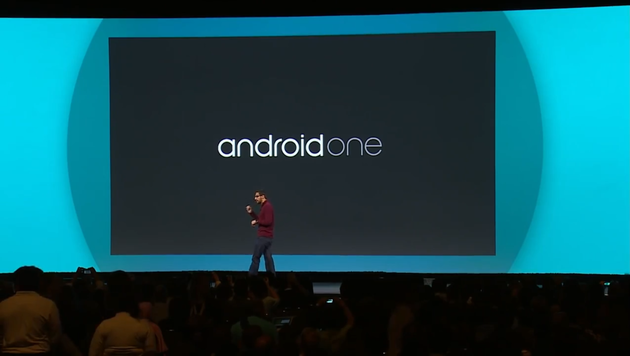 Android One Präsentation zur Google I/O 2014