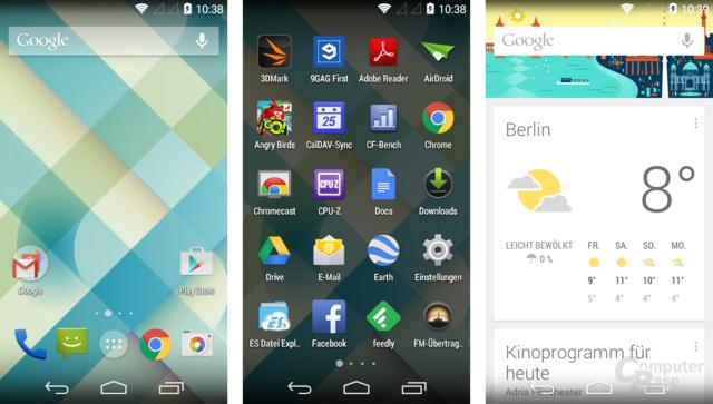 Android One läuft mit unverändertem Betriebssystem