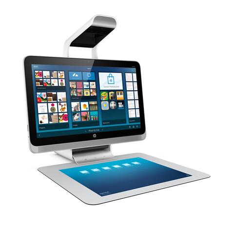 HP Sprout mit 3D-Scanner und Projektor