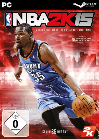 NBA 2K15 PC-Cover