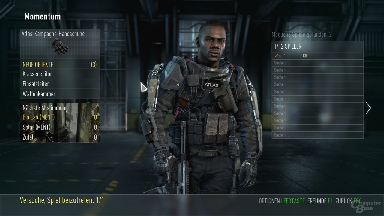 Advanced Warfare: Multiplayer