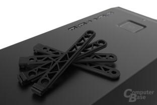 be quiet! Silent Base 800 – Festplattenschienen aus Silikon