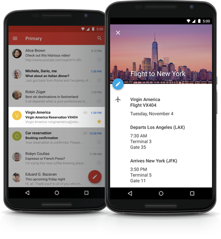 Neue Google Kalender App