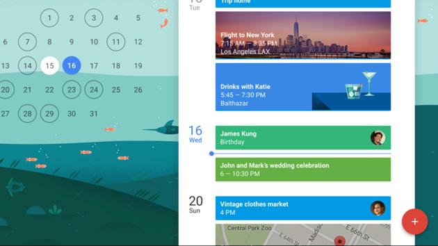 Google Kalender: Neue App mit Material Design erstellt Termine automatisch
