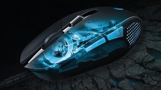 Logitech G302 Daedalus Prime: Maus mit Federn für viele Klicks in Onlinespielen