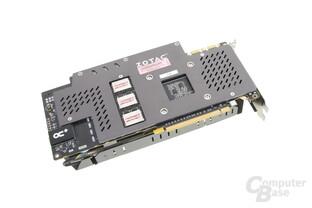 Zotac GeForce GTX 980 Omega – Rückseite