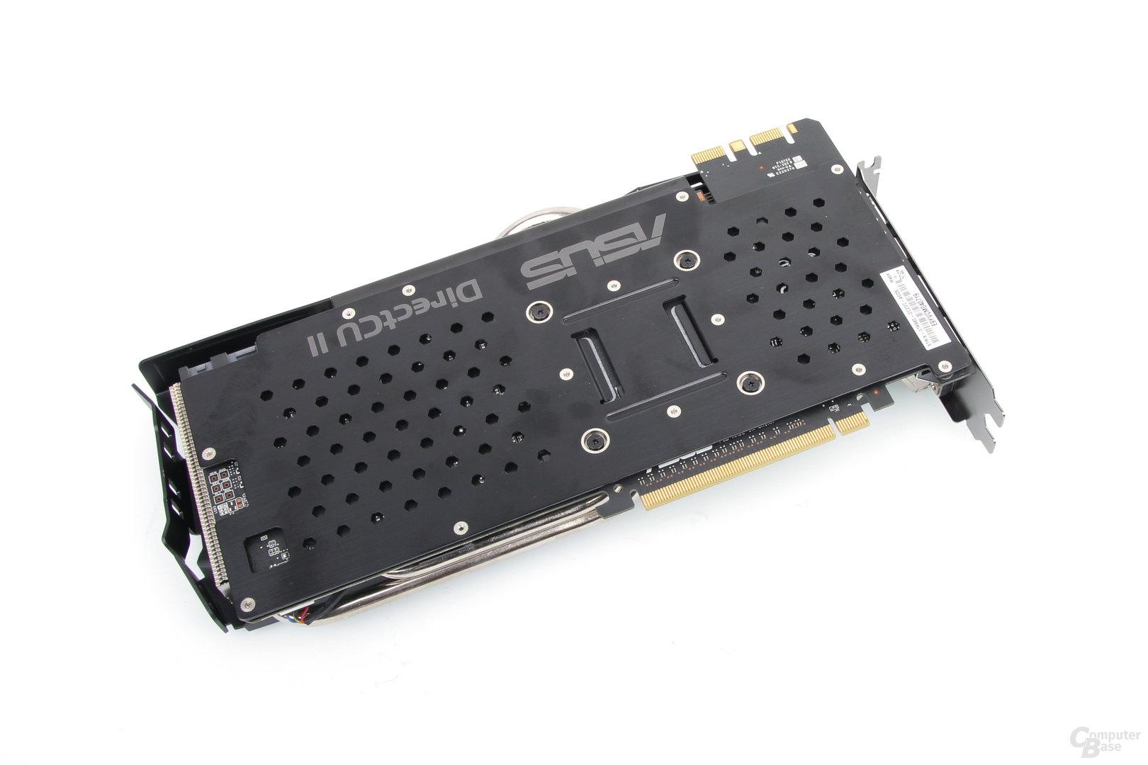 Asus GeForce GTX 980 Strix – Rückseite