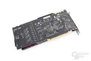 MSI GeForce GTX 980 Gaming 4G – Rückseite