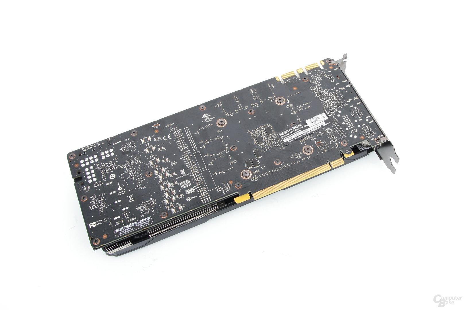 EVGA GeForce GTX 980 SC ACX 2.0 – Rückseite